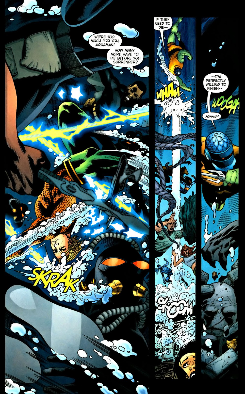 Aquaman (2003) Issue #37 #37 - English 20