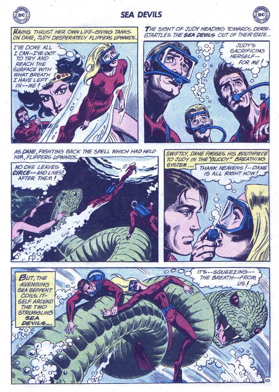 Read online Sea Devils comic -  Issue #3 - 31