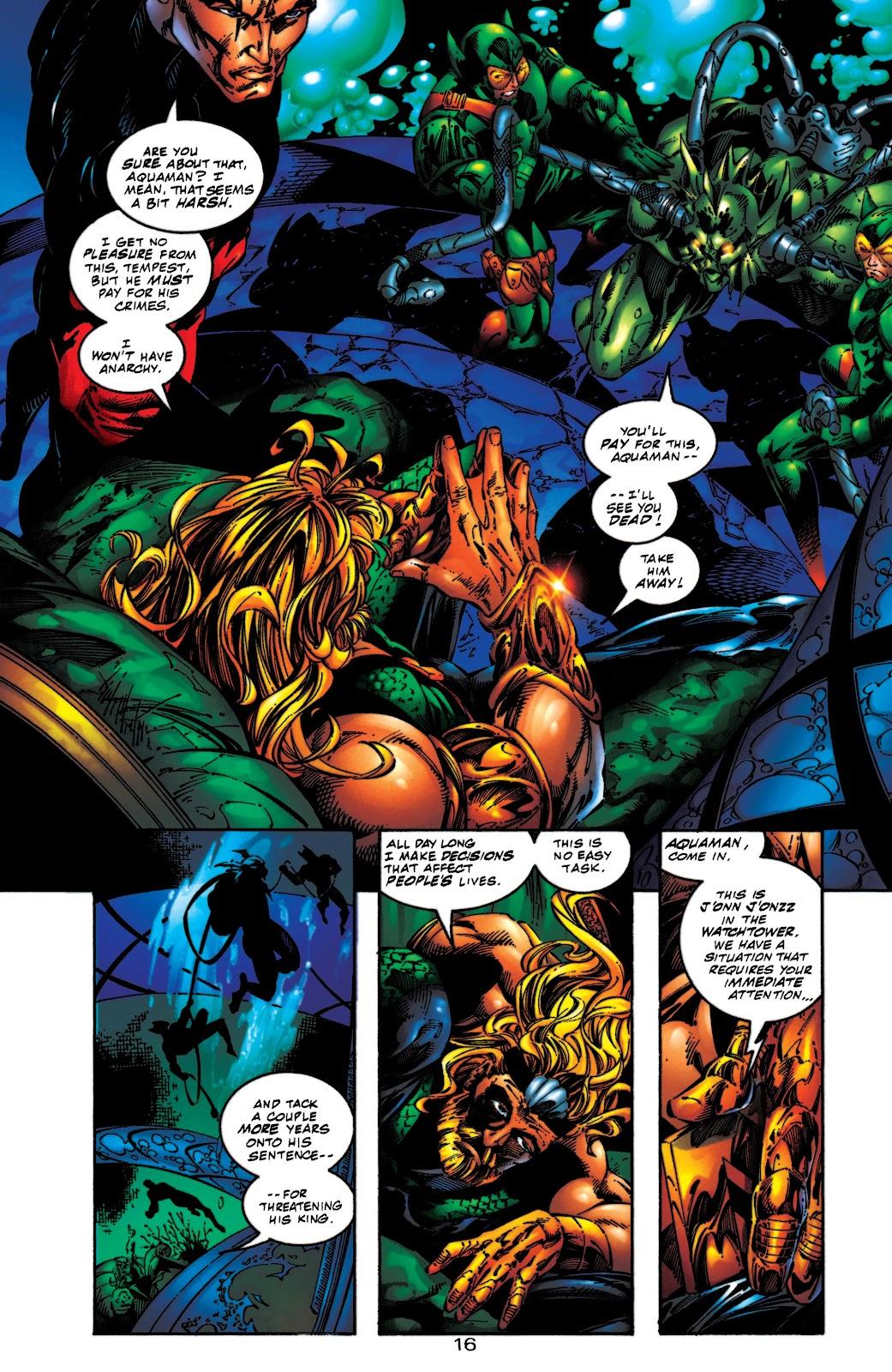 Aquaman (1994) Issue #54 #60 - English 17