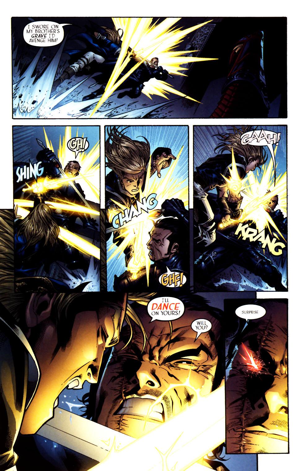 Read online Scion comic -  Issue #13 - 20
