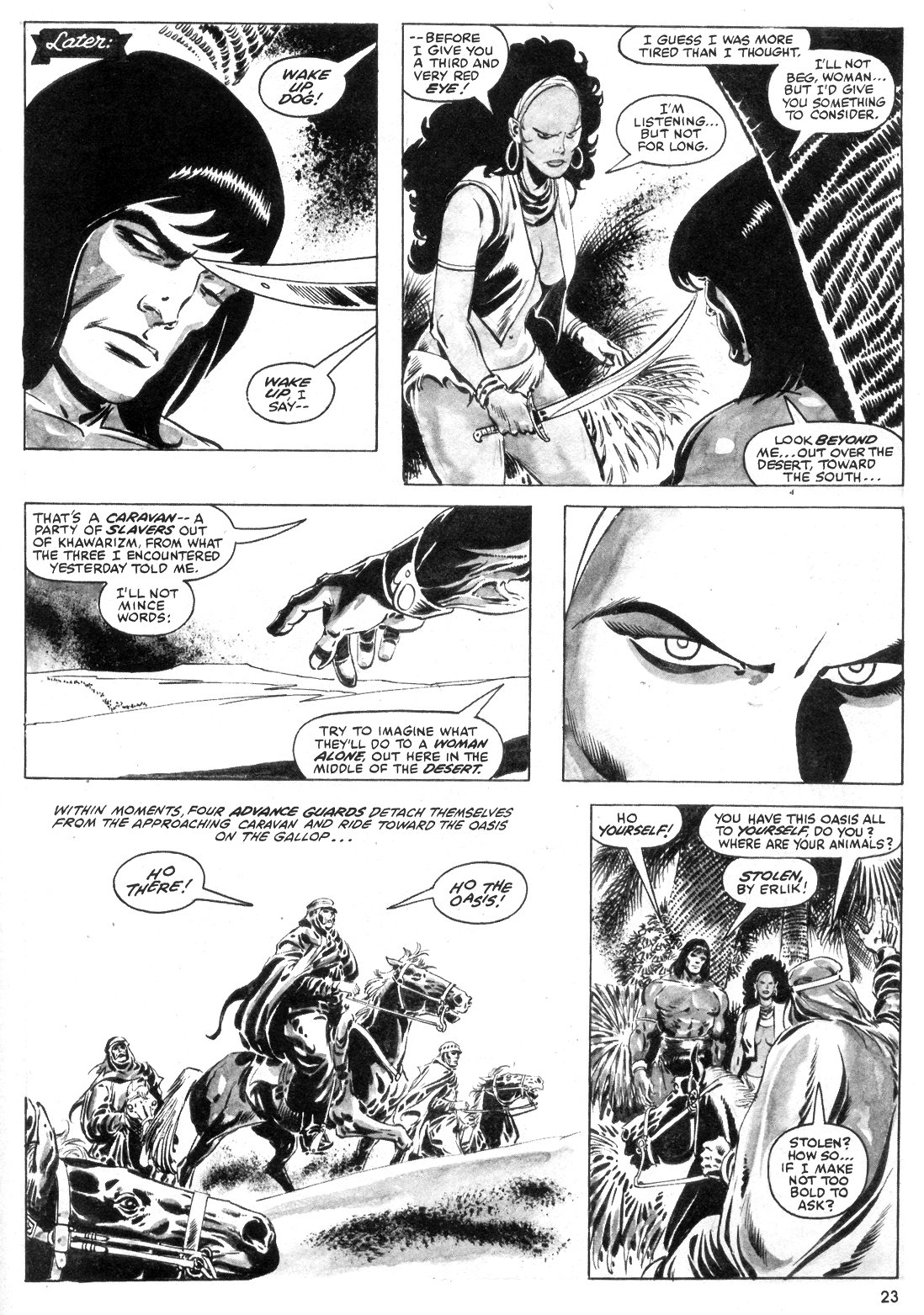The Savage Sword Of Conan Issue #55 #56 - English 23