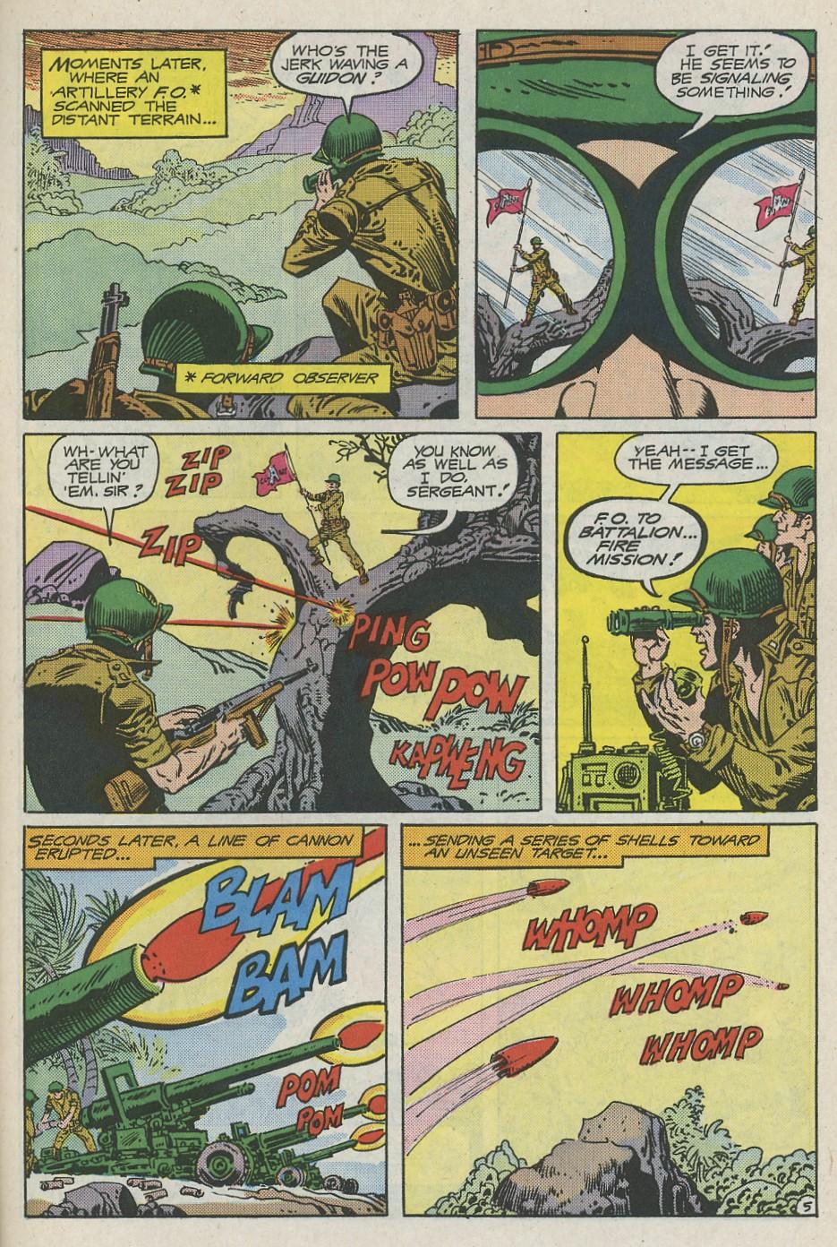 G.I. Combat (1952) Issue #288 #288 - English 30
