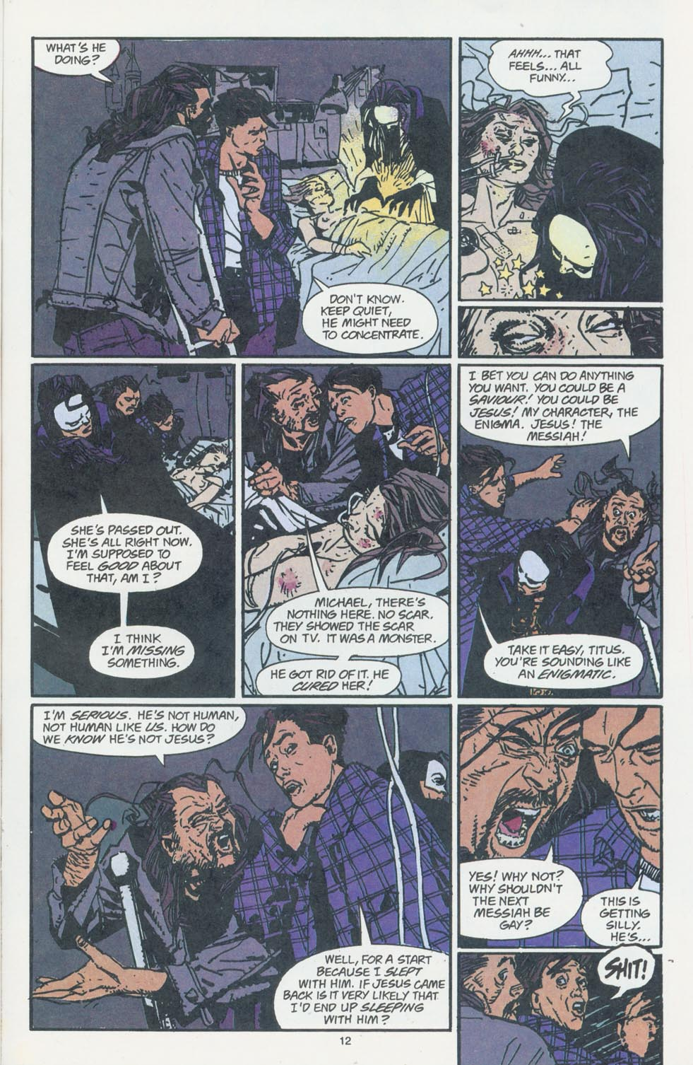 Read online Enigma comic -  Issue #7 - 14
