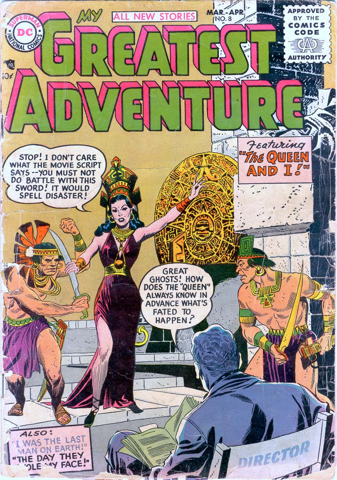 My Greatest Adventure (1955) 8 Page 1