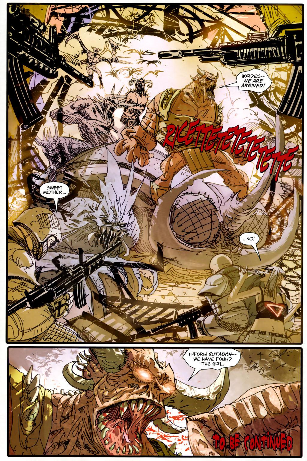 Read online Strange Girl comic -  Issue #6 - 22
