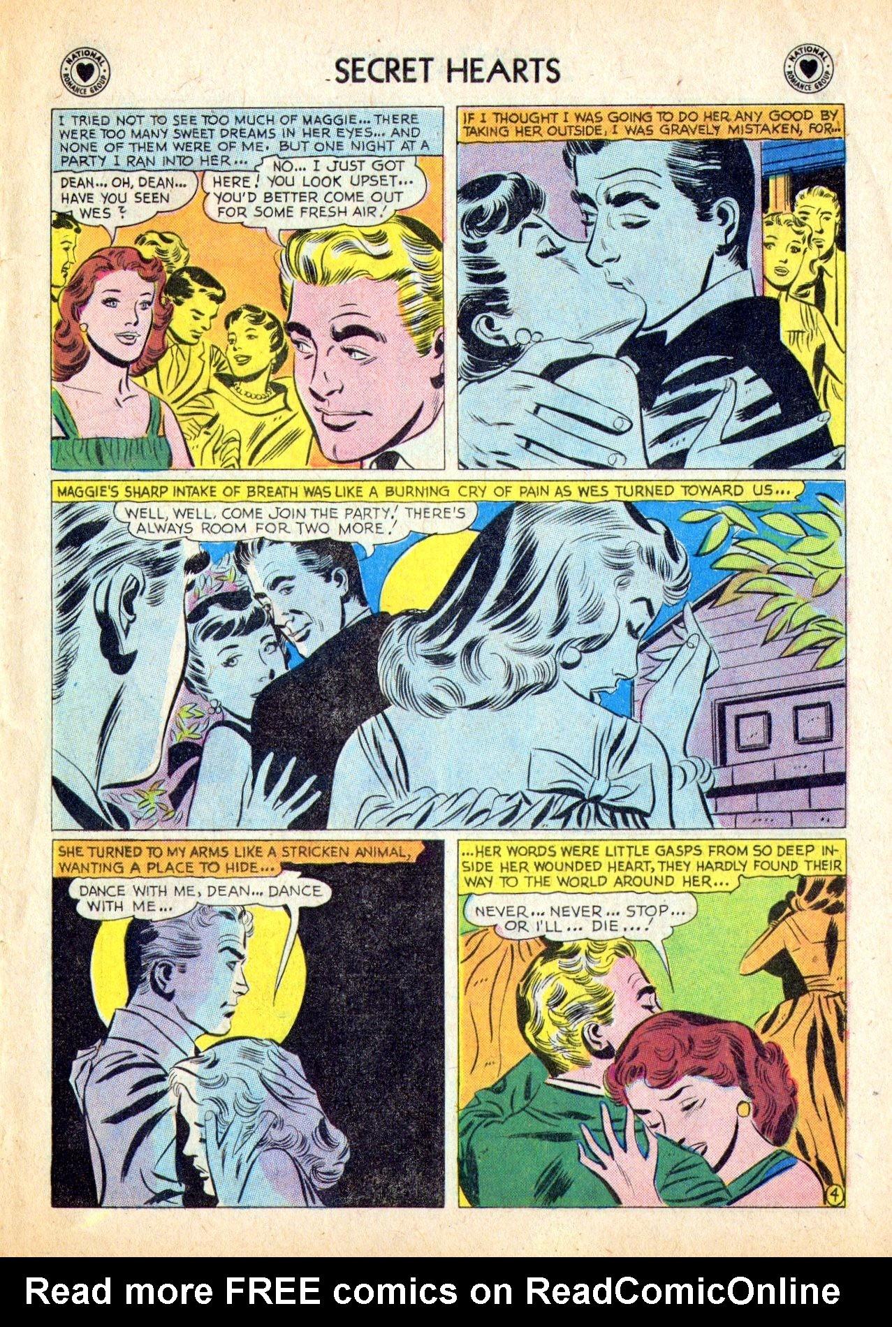 Read online Secret Hearts comic -  Issue #53 - 29