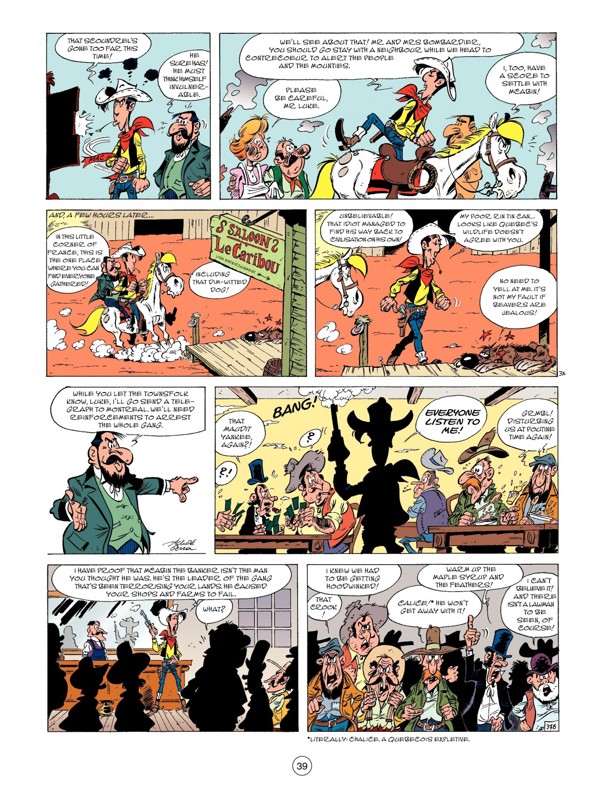 A Lucky Luke Adventure 52 Page 40