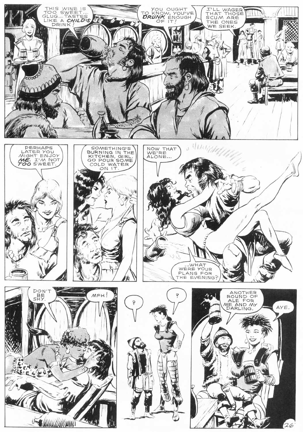 The Savage Sword Of Conan Issue #154 #155 - English 28