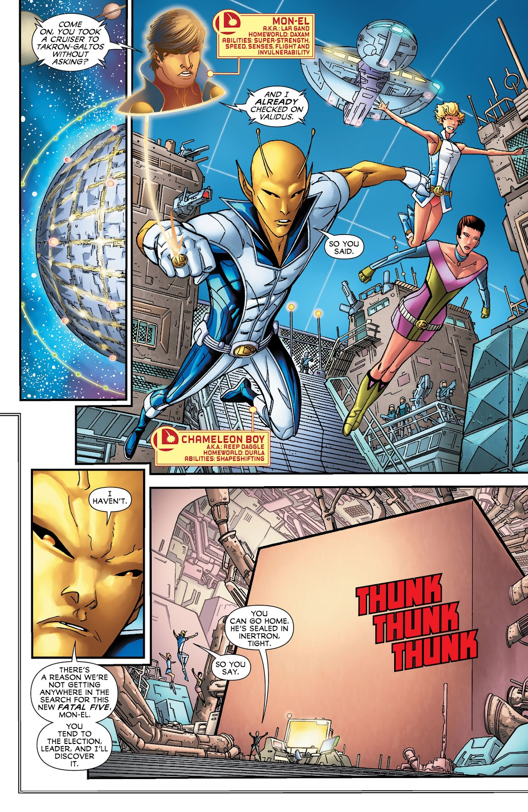 Legion of Super-Heroes (2011) Issue #16 #17 - English 5