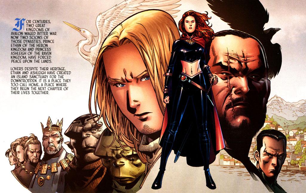 Read online Scion comic -  Issue #39 - 3