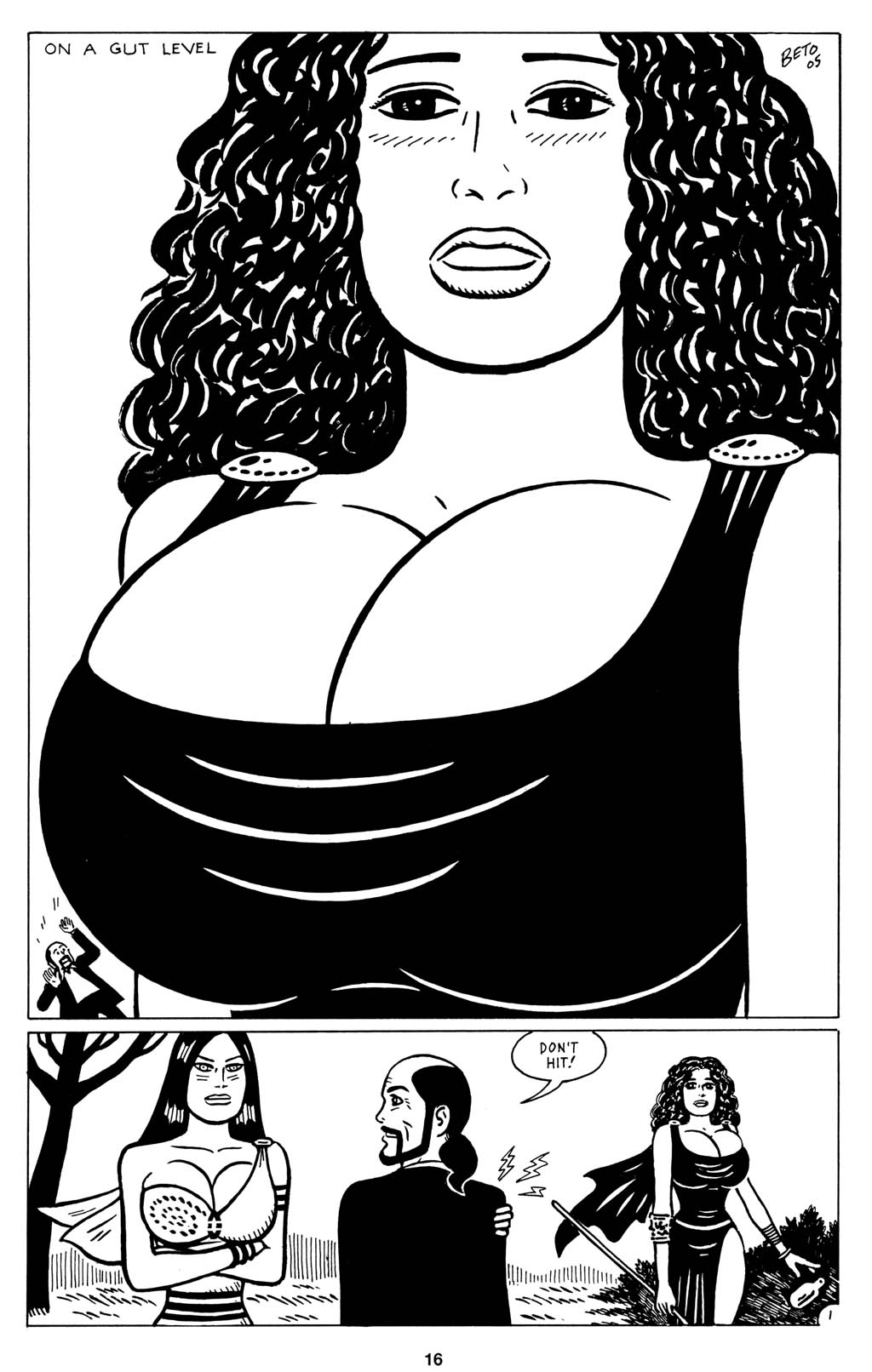 Read online Love and Rockets (2001) comic -  Issue #15 - 18