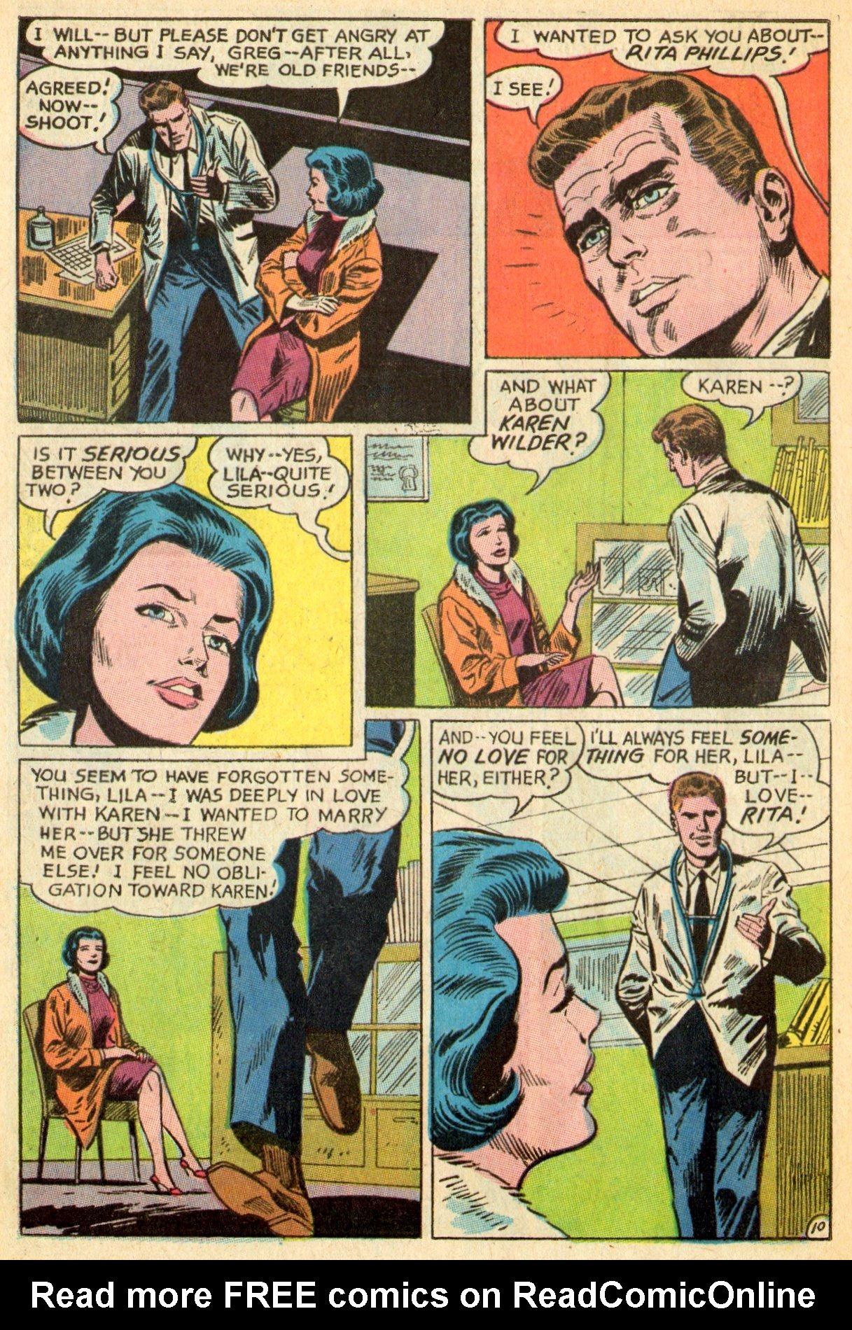 Read online Secret Hearts comic -  Issue #119 - 28