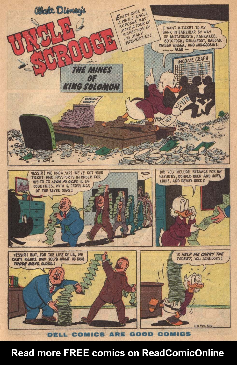 Uncle Scrooge (1953) Issue #19 #19 - English 3