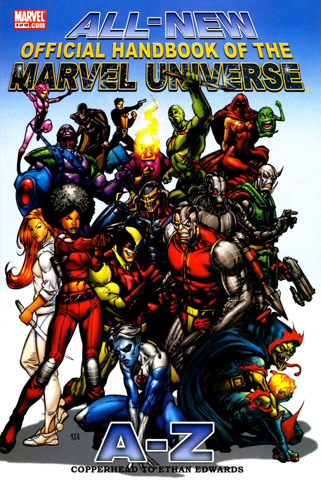 All-New Official Handbook of the Marvel Universe A to Z 3 Page 1
