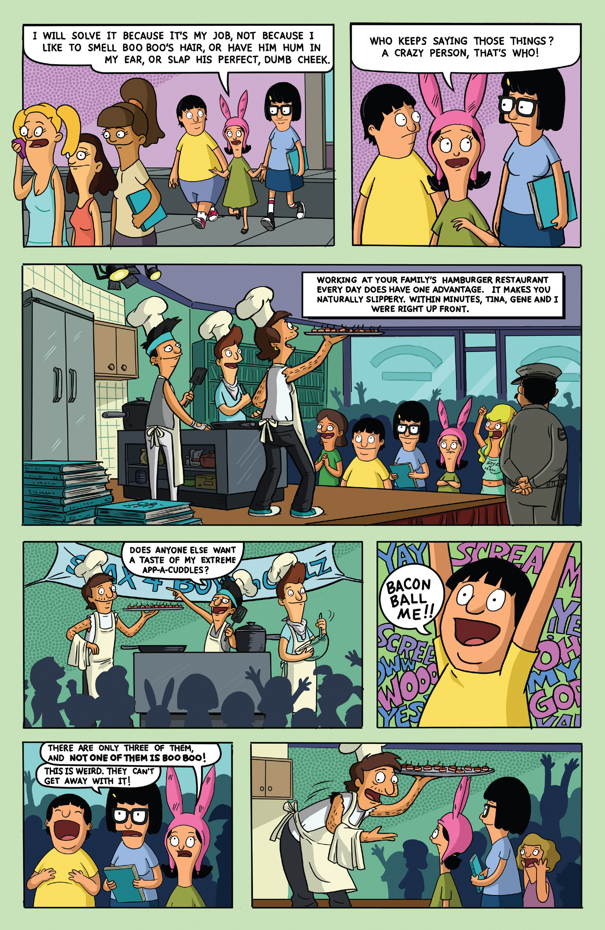 Read online Bob's Burgers (2014) comic -  Issue #5 - 13