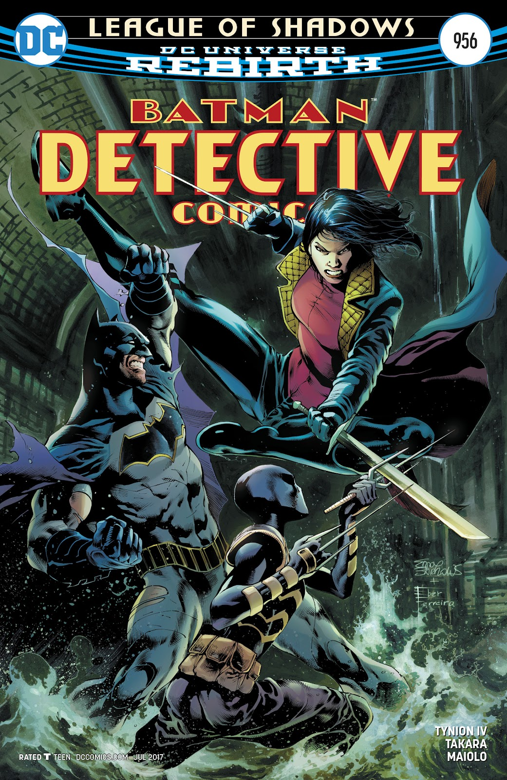 Detective Comics (2016) issue 956 - Page 1