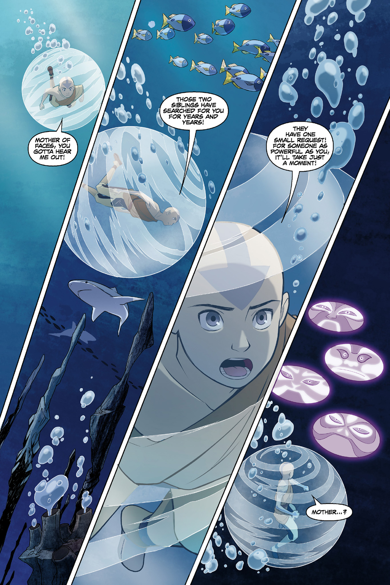 Read online Nickelodeon Avatar: The Last Airbender - The Search comic -  Issue # Part 3 - 24