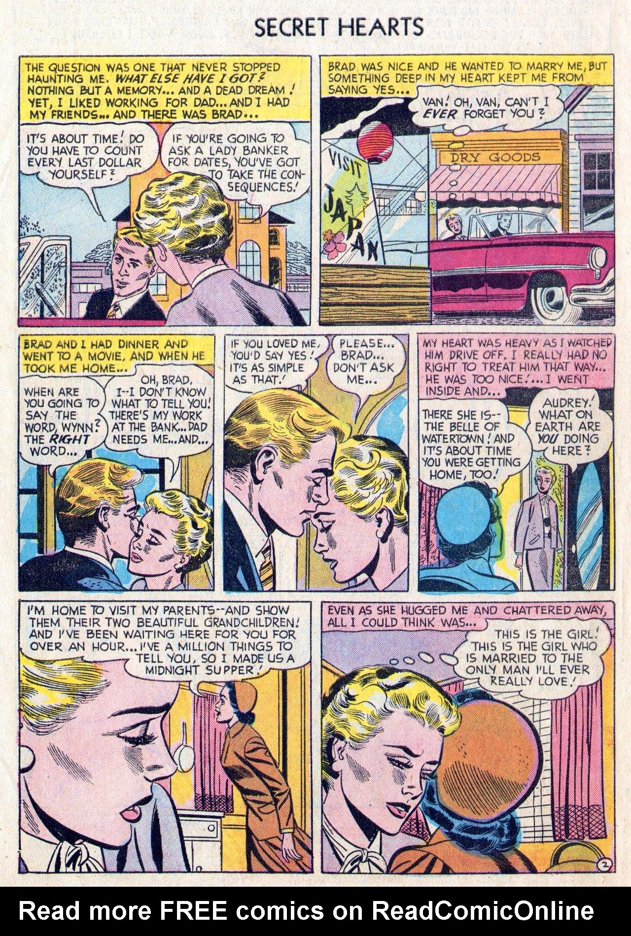 Read online Secret Hearts comic -  Issue #28 - 4