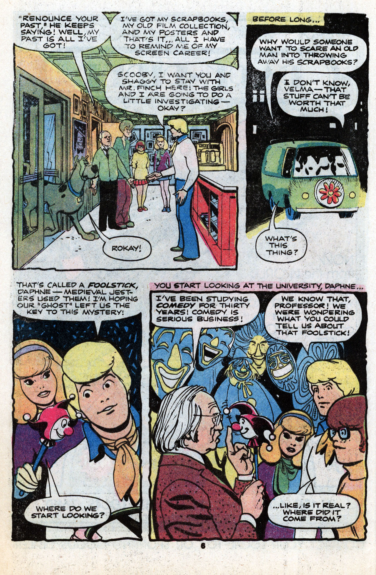 Read online Scooby-Doo (1977) comic -  Issue #6 - 8