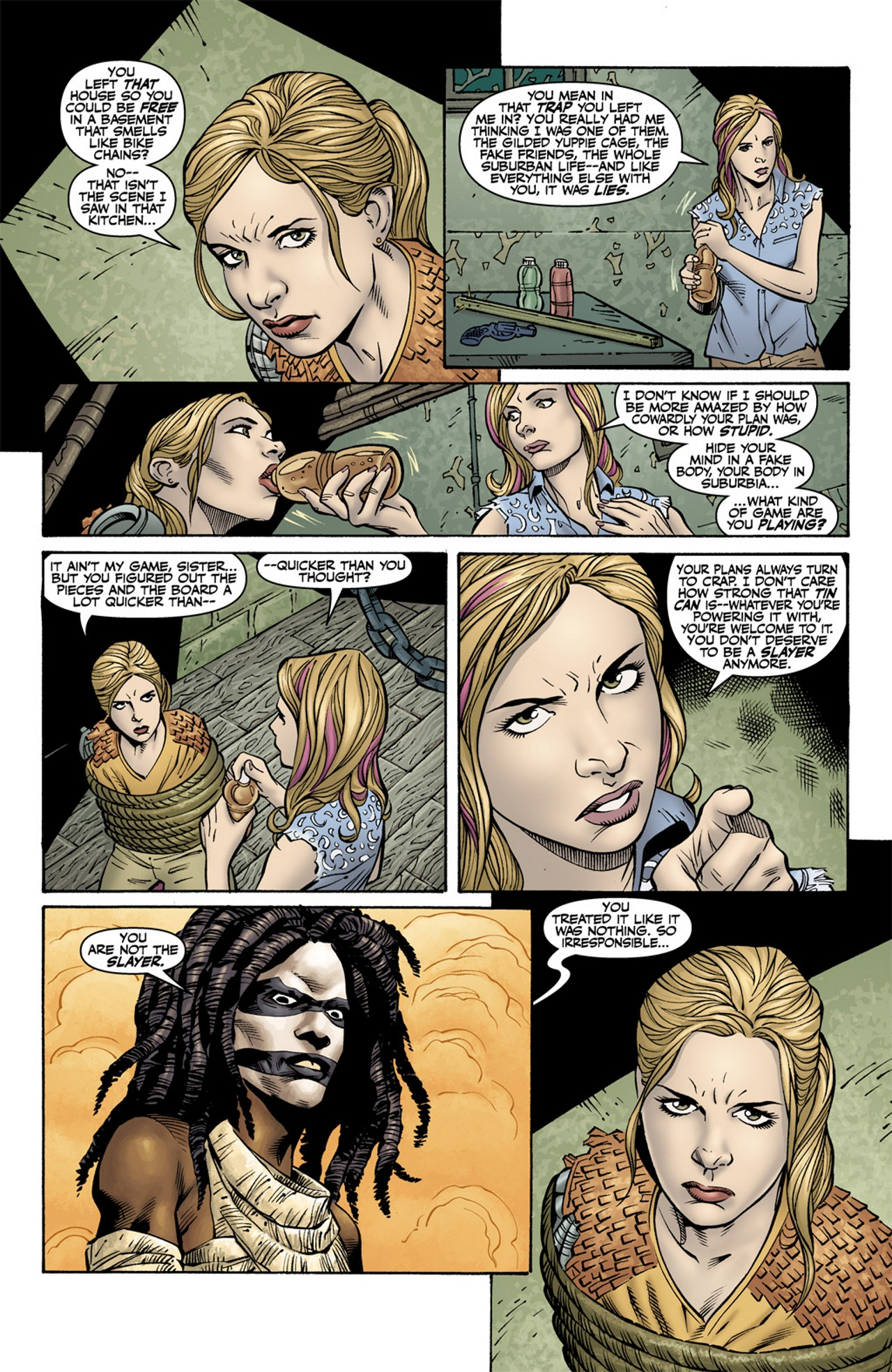 Read online Buffy the Vampire Slayer Season Nine comic -  Issue #10 - 4