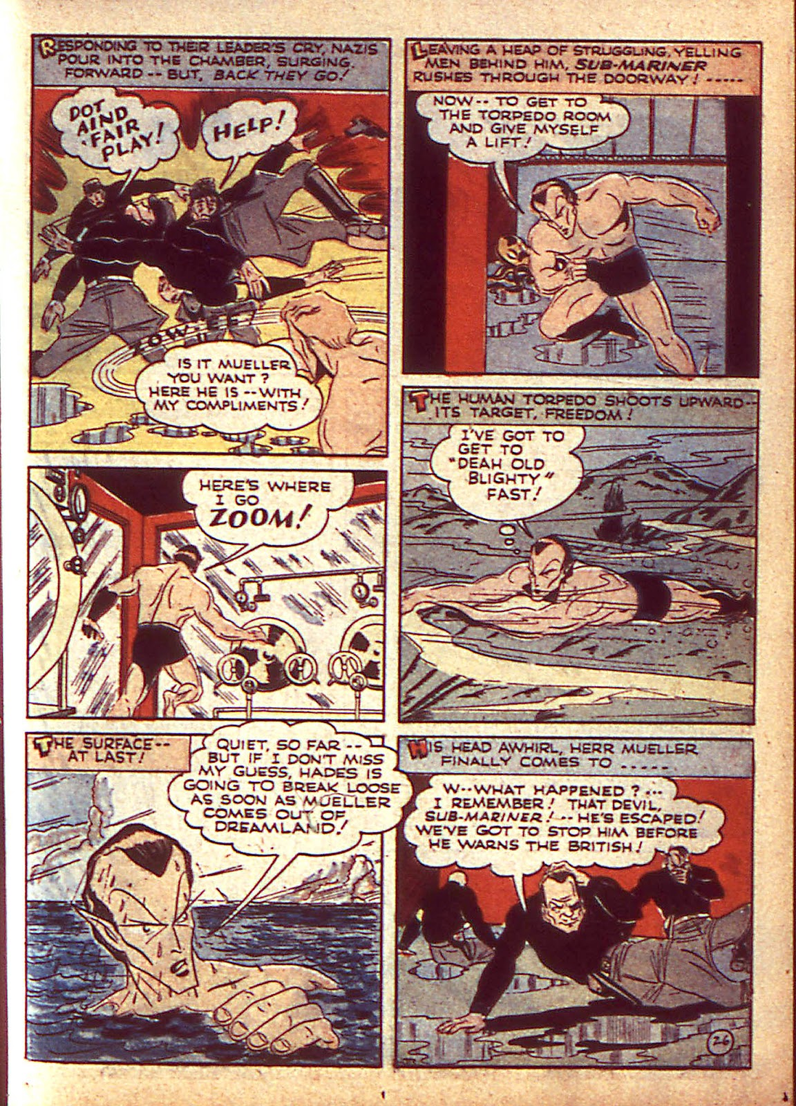 Sub-Mariner Comics Issue #3 #3 - English 30