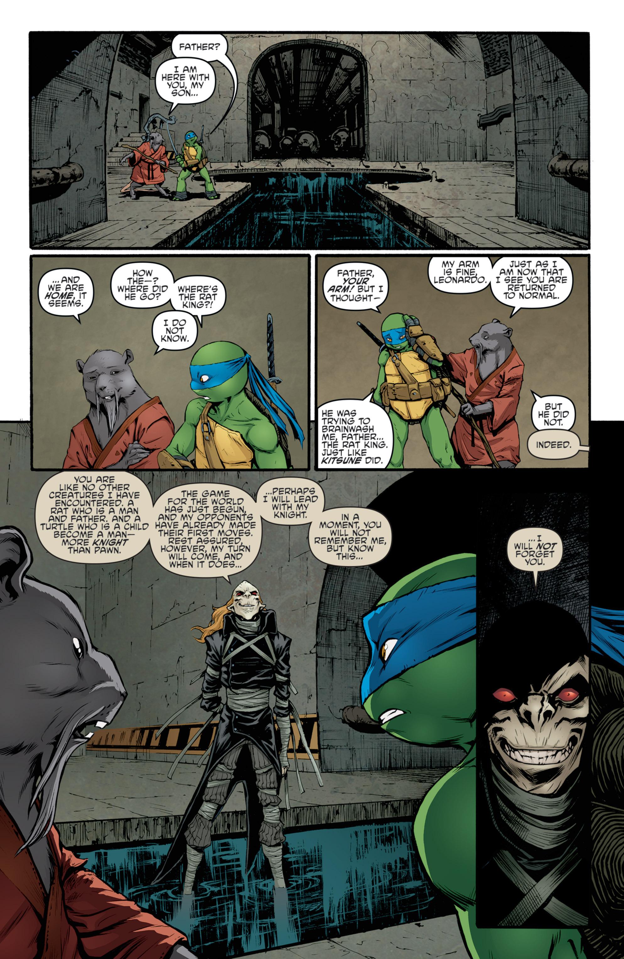 Read online Teenage Mutant Ninja Turtles (2011) comic -  Issue #36 - 21