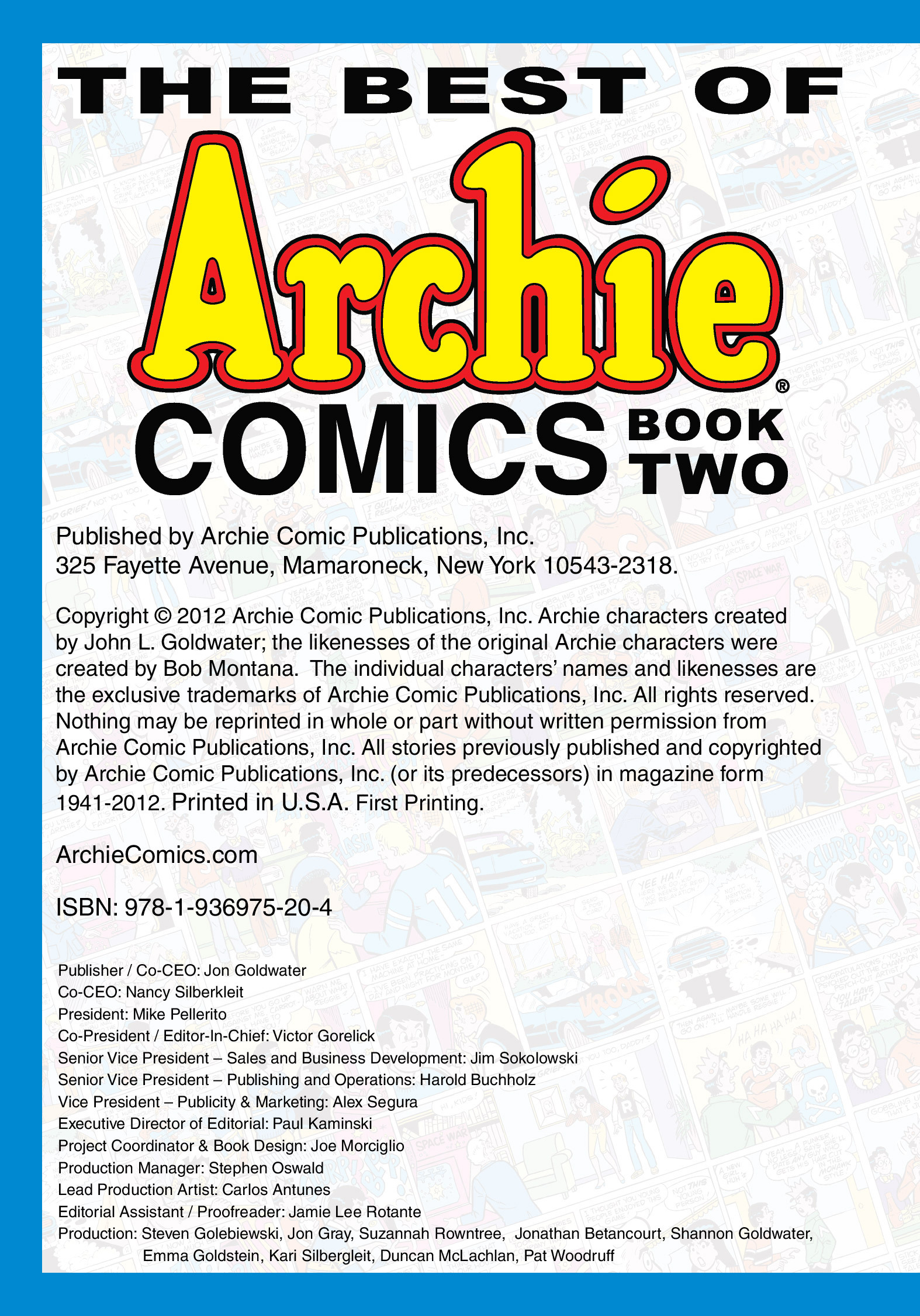 Read online The Best of Archie Comics comic -  Issue # TPB 2 (Part 1) - 4