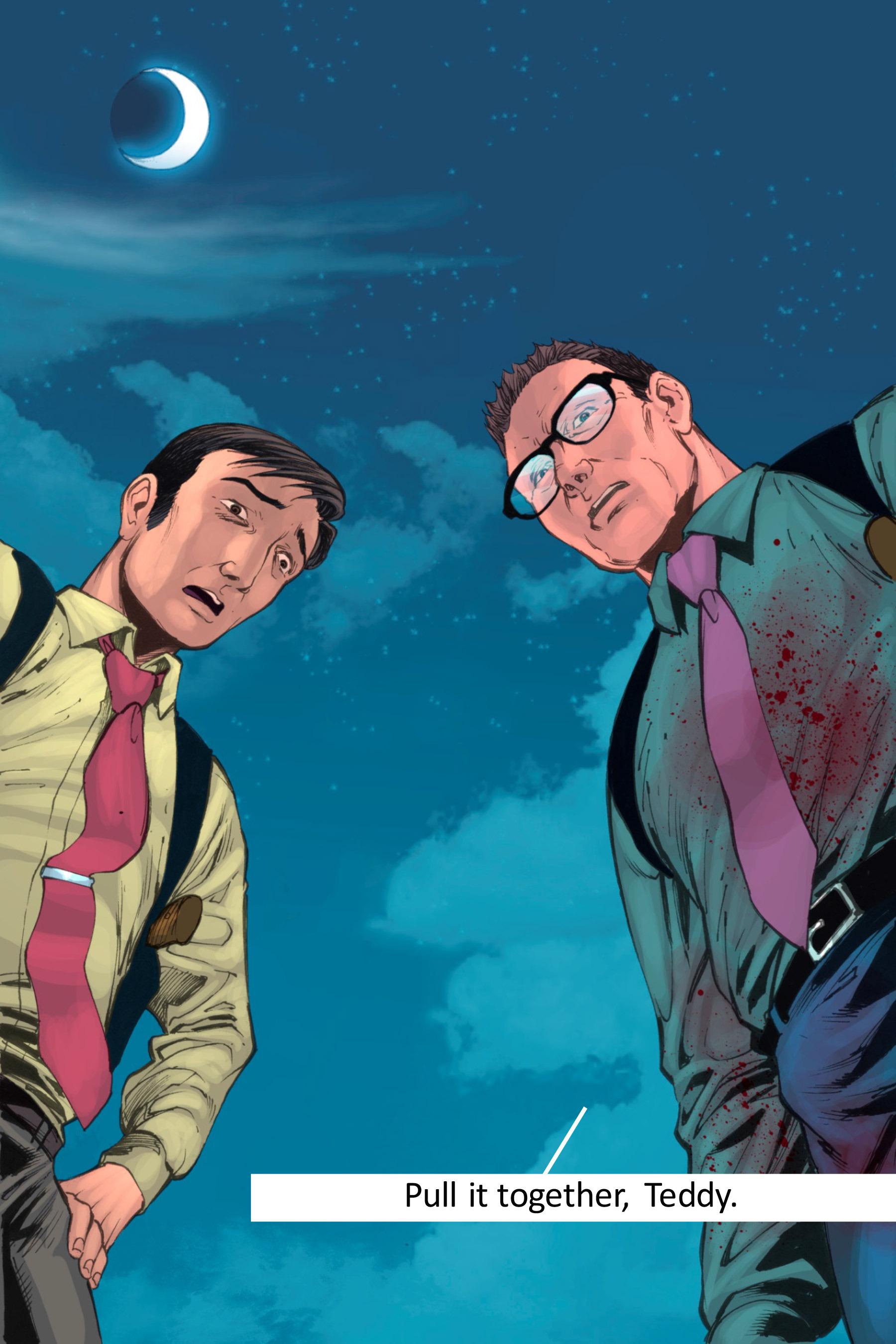 Read online Z-Men comic -  Issue #3 - 140
