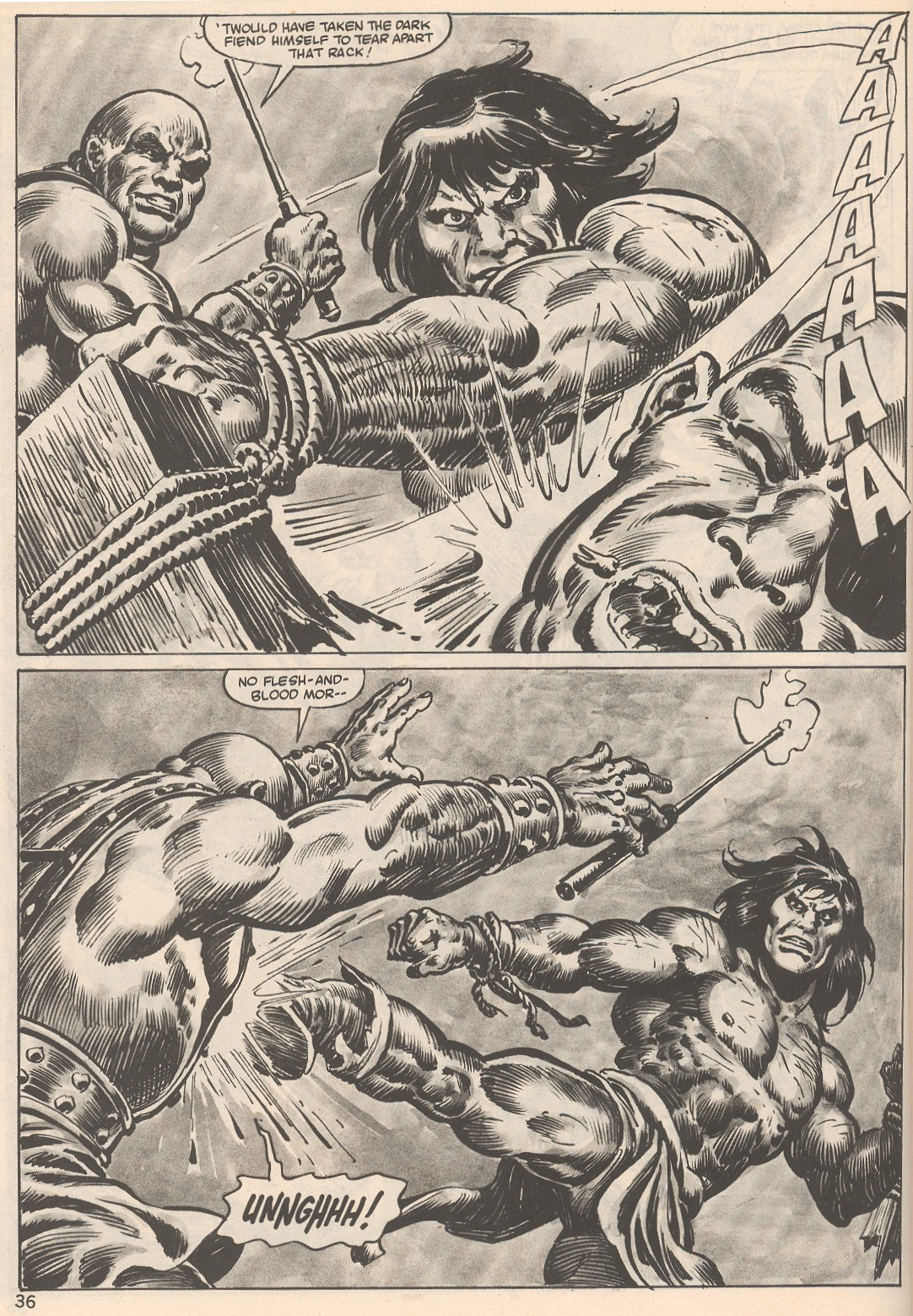 The Savage Sword Of Conan Issue #104 #105 - English 36