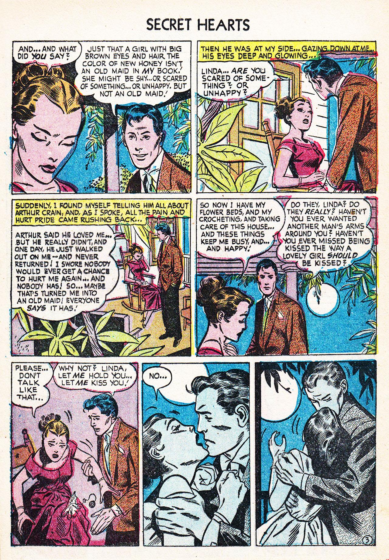 Read online Secret Hearts comic -  Issue #24 - 20