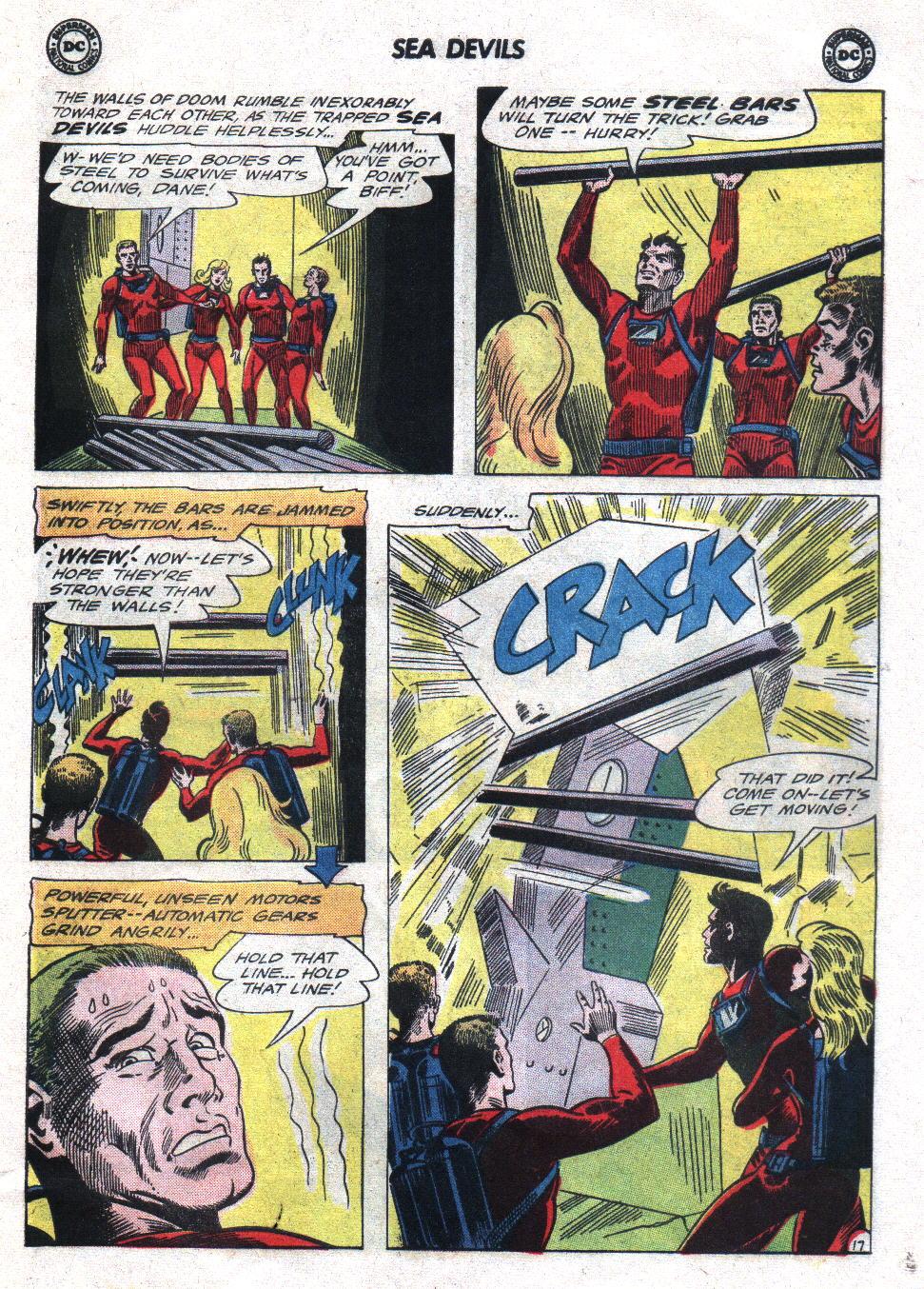 Read online Sea Devils comic -  Issue #21 - 25