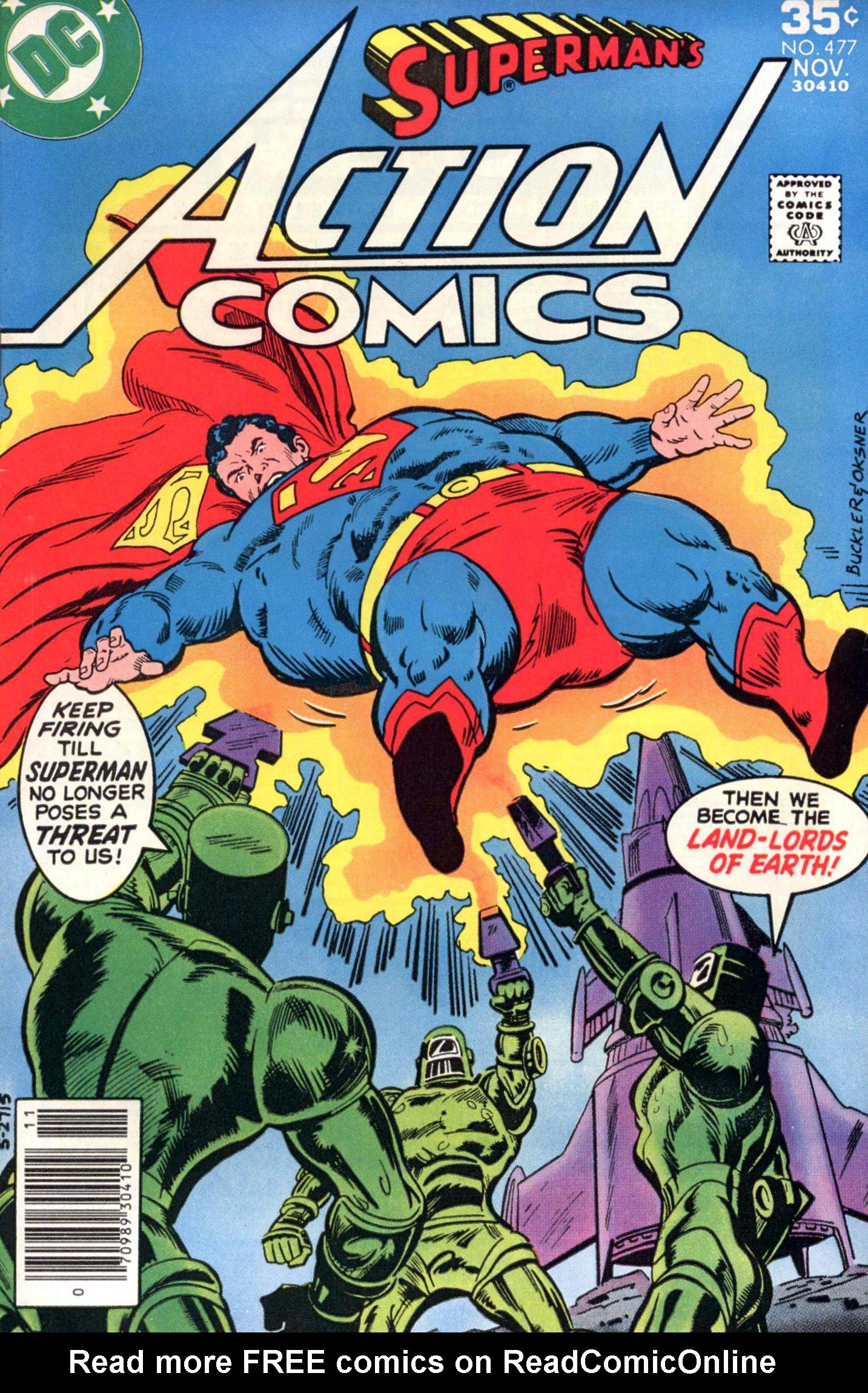 Action Comics (1938) 477 Page 1
