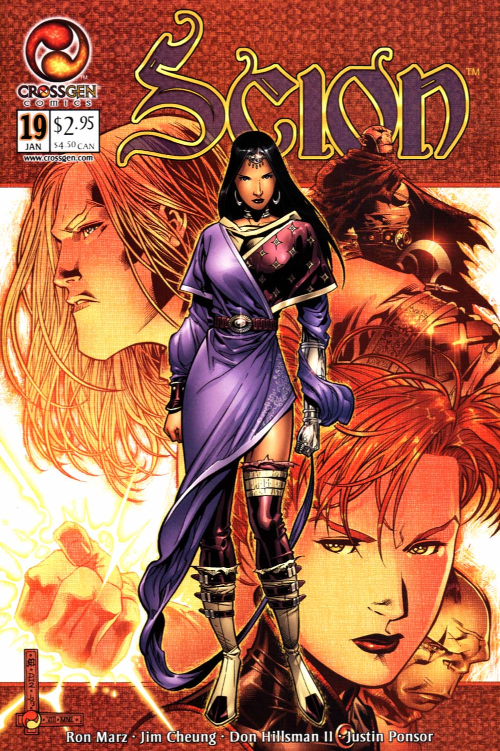 Read online Scion comic -  Issue #19 - 1