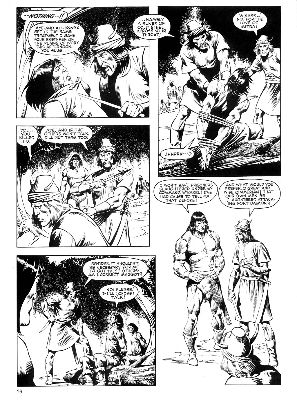 The Savage Sword Of Conan Issue #91 #92 - English 15