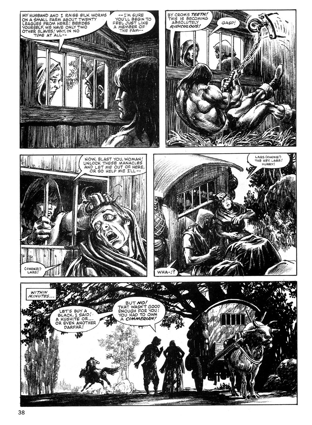 The Savage Sword Of Conan Issue #89 #90 - English 38
