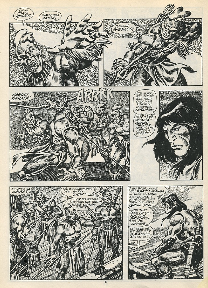 The Savage Sword Of Conan Issue #192 #193 - English 8