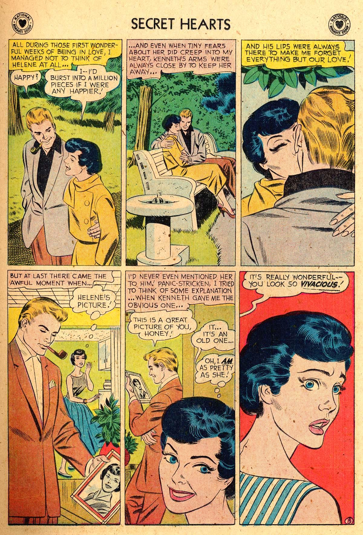 Read online Secret Hearts comic -  Issue #52 - 23