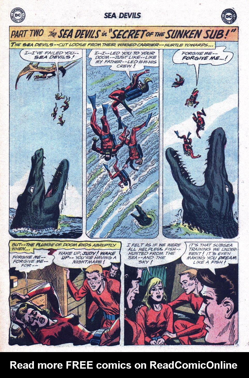 Read online Sea Devils comic -  Issue #15 - 13