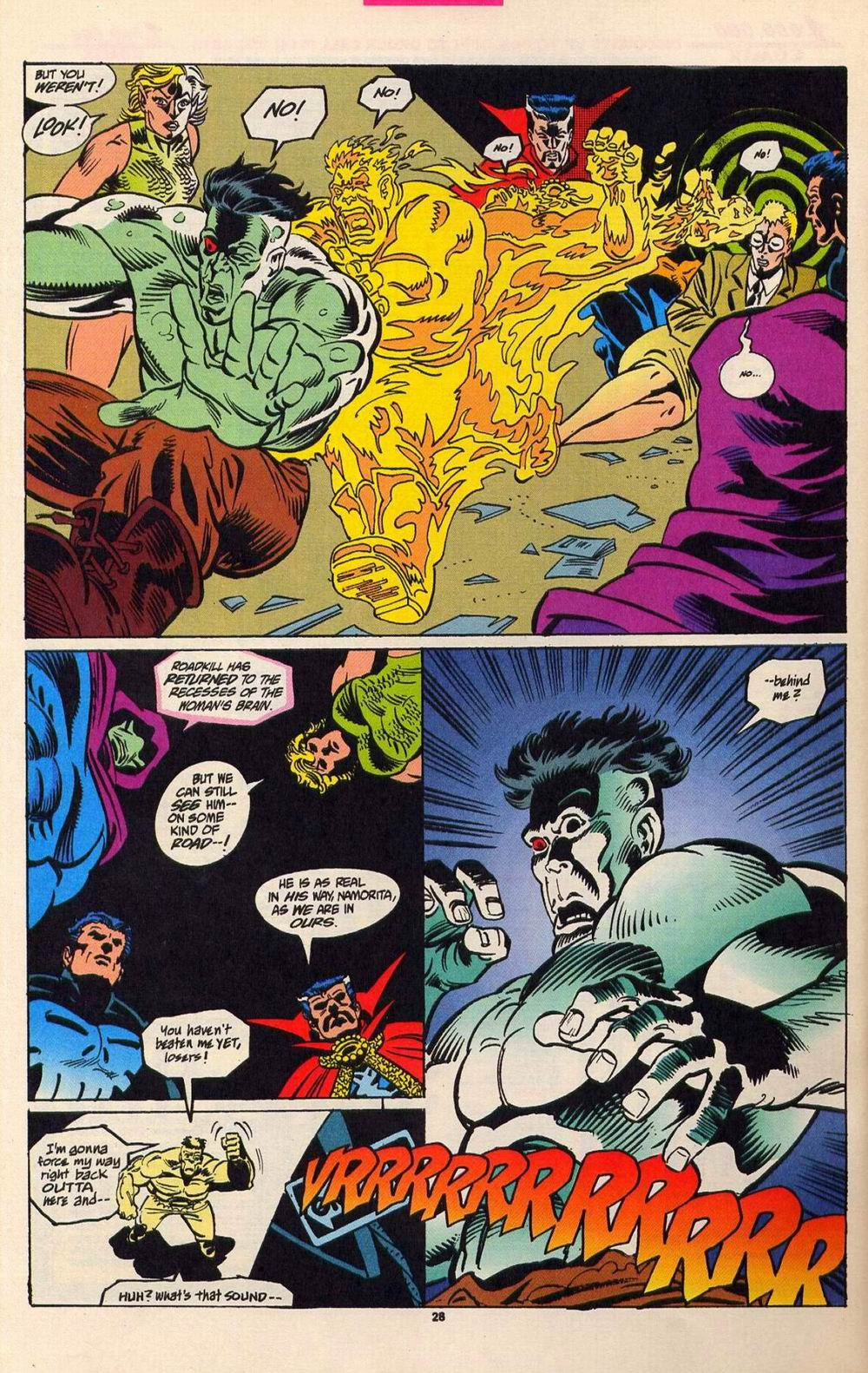 Read online Secret Defenders comic -  Issue #5 - 21