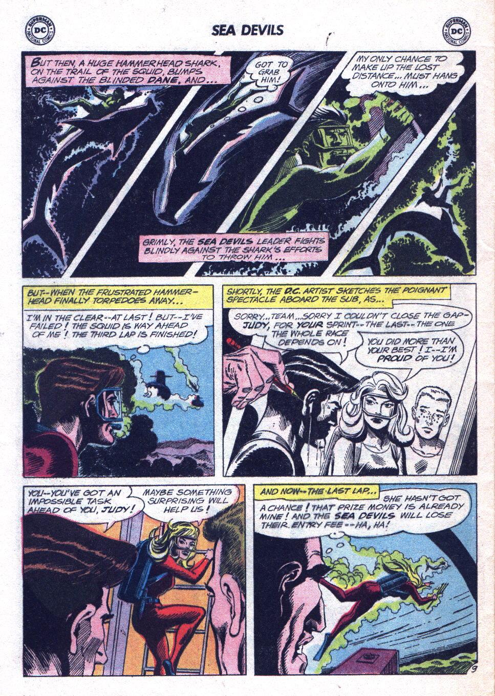 Read online Sea Devils comic -  Issue #14 - 28