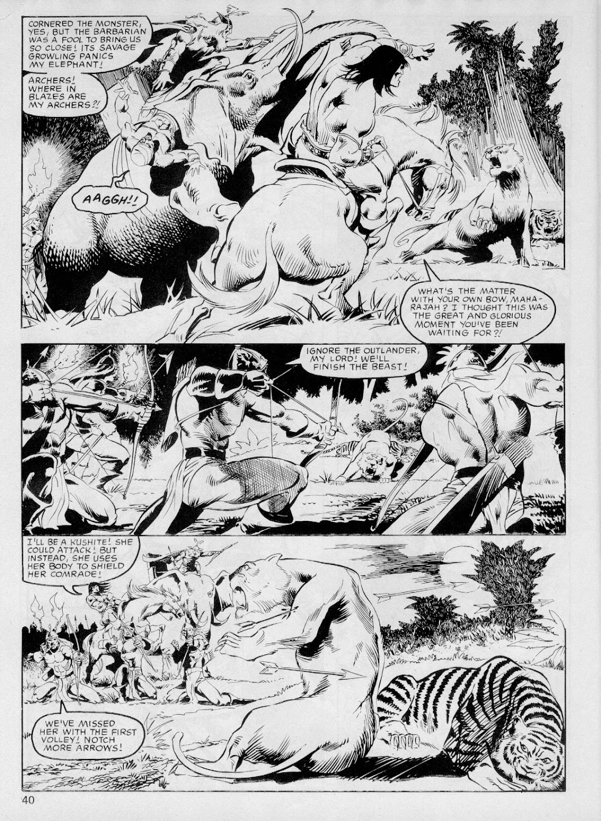 The Savage Sword Of Conan Issue #103 #104 - English 39