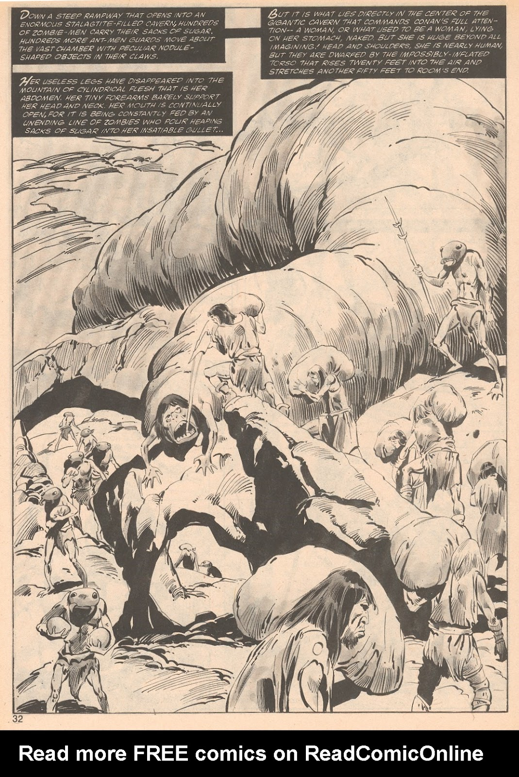 The Savage Sword Of Conan Issue #70 #71 - English 32