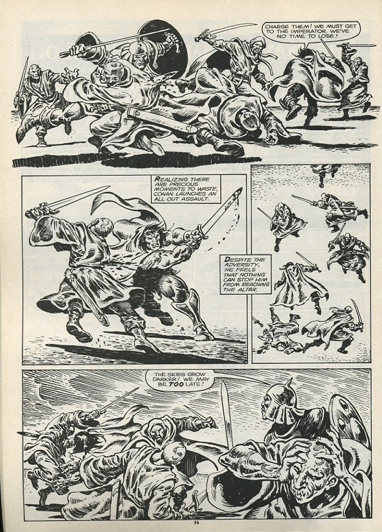 The Savage Sword Of Conan Issue #178 #179 - English 38