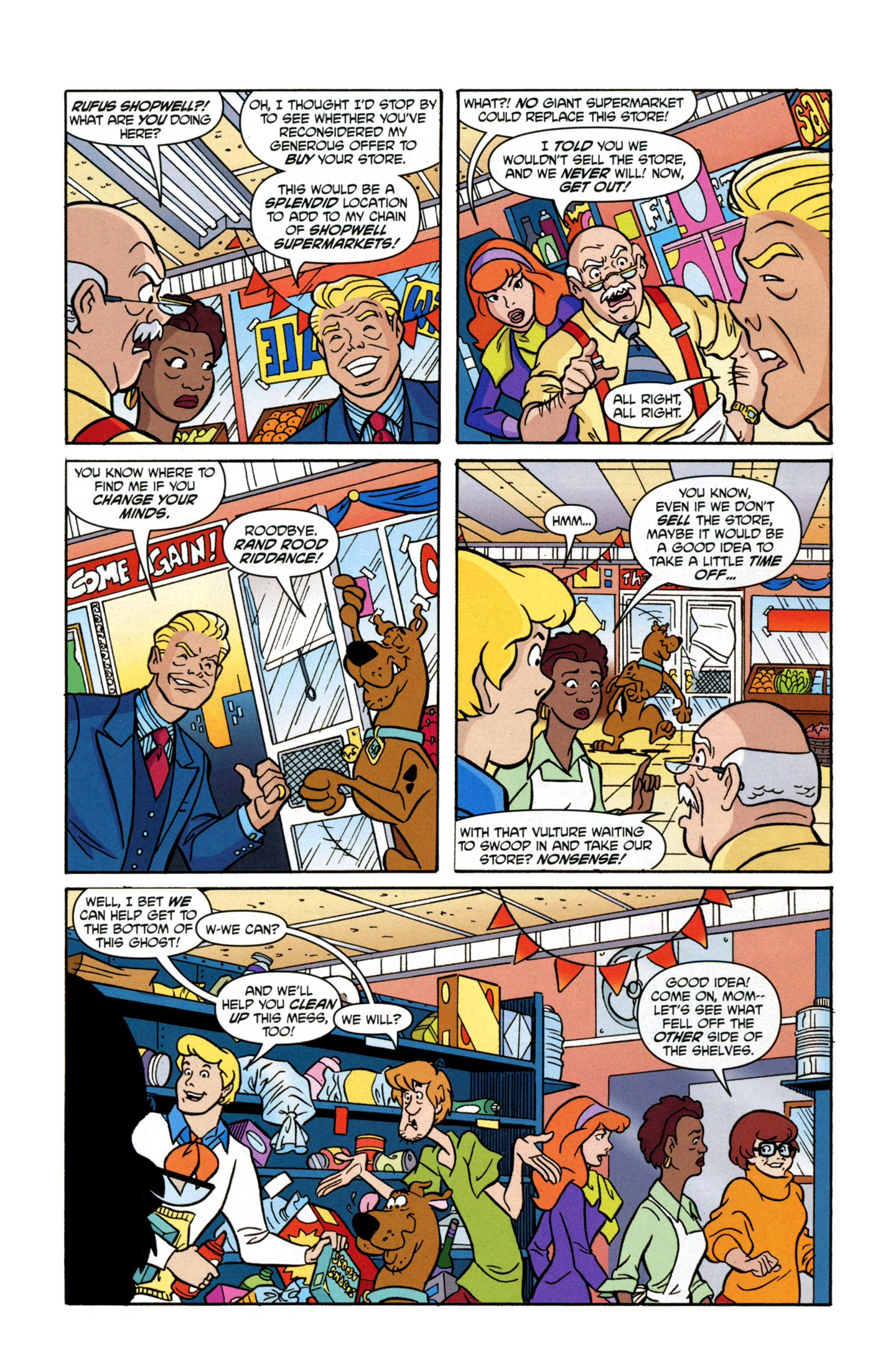 Read online Scooby-Doo: Where Are You? comic -  Issue #17 - 6
