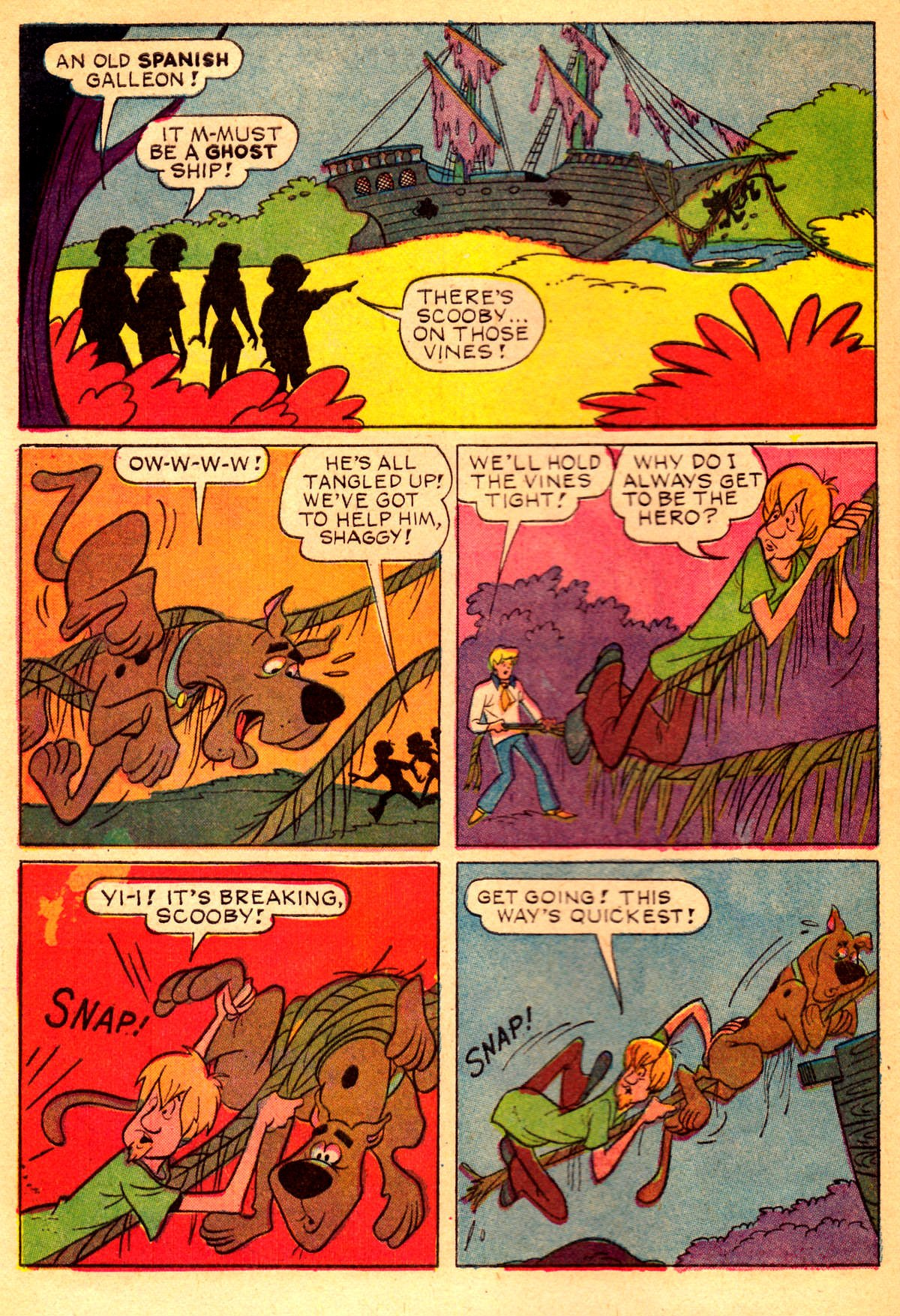 Read online Scooby-Doo... Where Are You! (1970) comic -  Issue #2 - 7