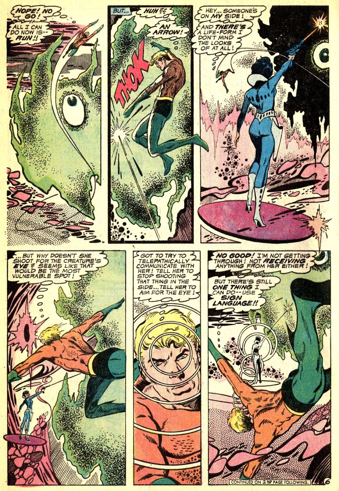 Aquaman (1962) Issue #50 #50 - English 8