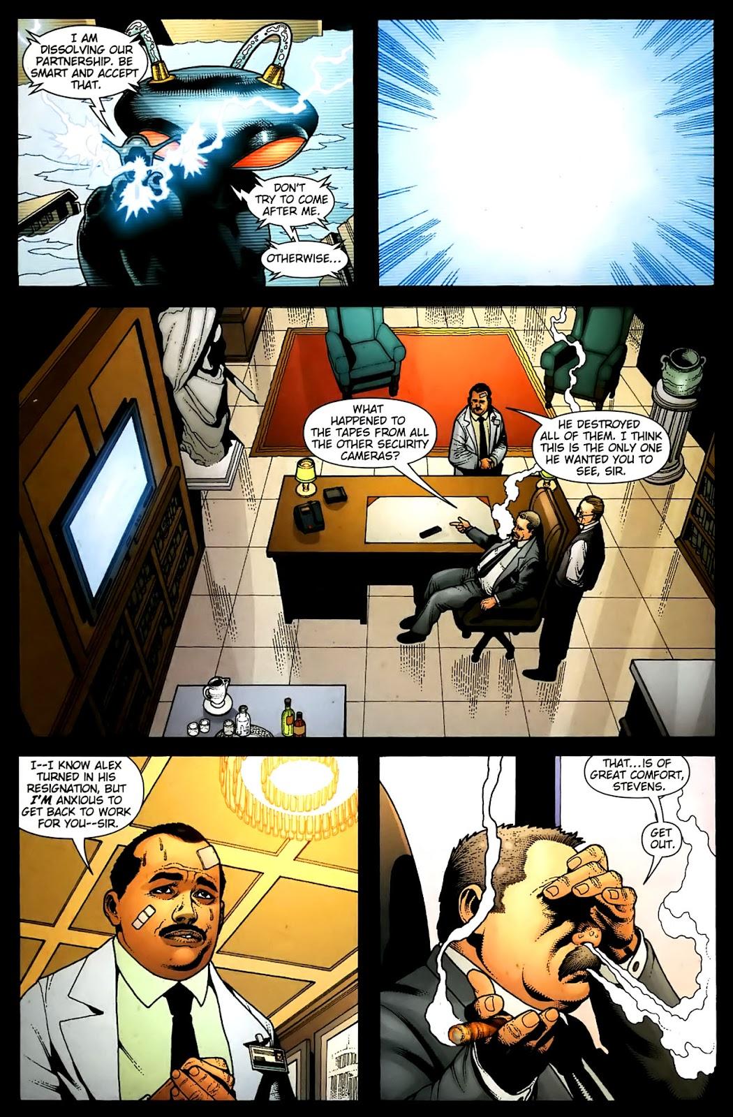 Aquaman (2003) Issue #36 #36 - English 12