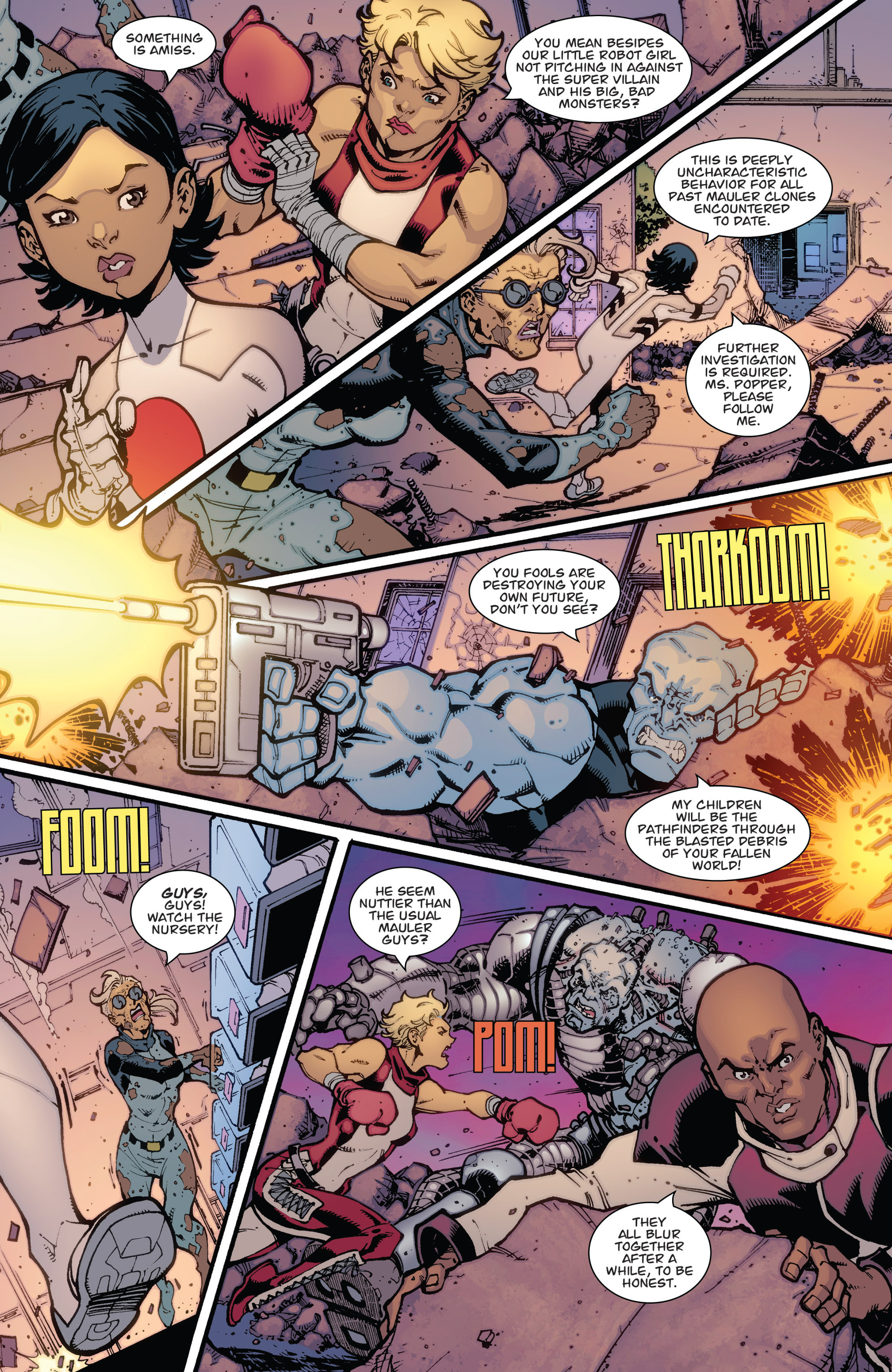 Read online Guarding the Globe (2012) comic -  Issue #2 - 14