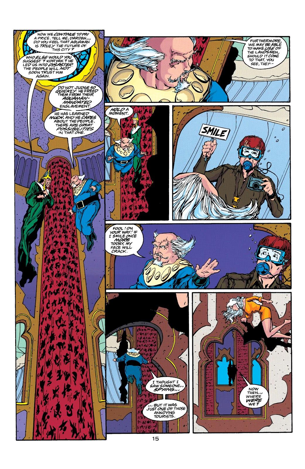 Aquaman (1994) Issue #39 #45 - English 15