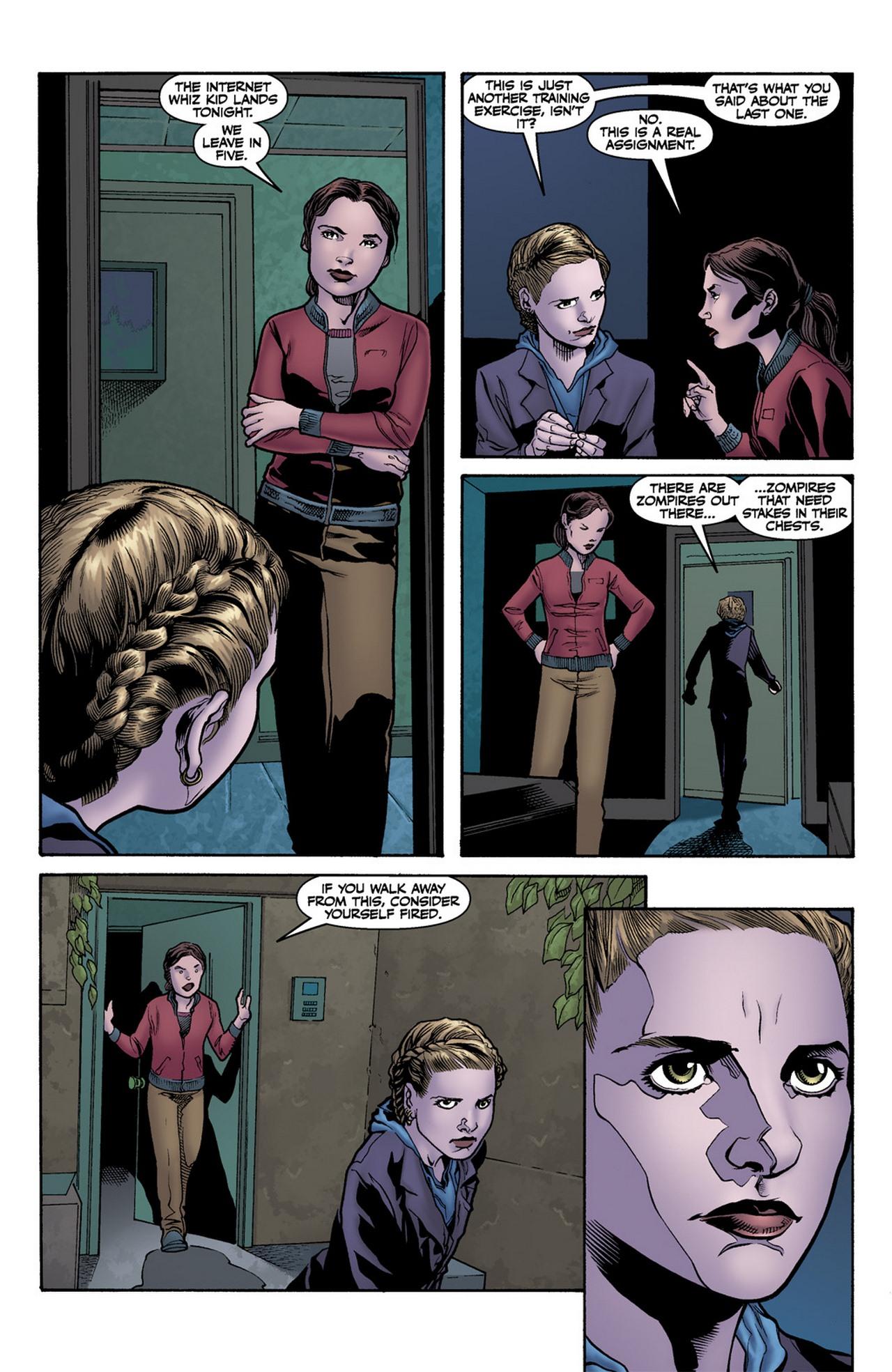 Read online Buffy the Vampire Slayer Season Nine comic -  Issue #11 - 16